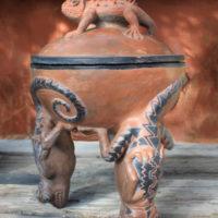 Lizard Pot