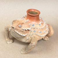 Horned Toad Pot